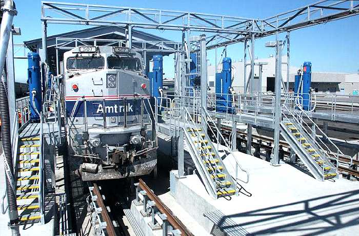 Oakland Amtrak Maintenance Facility
